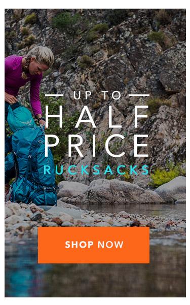 Up To Half Price Rucksacks