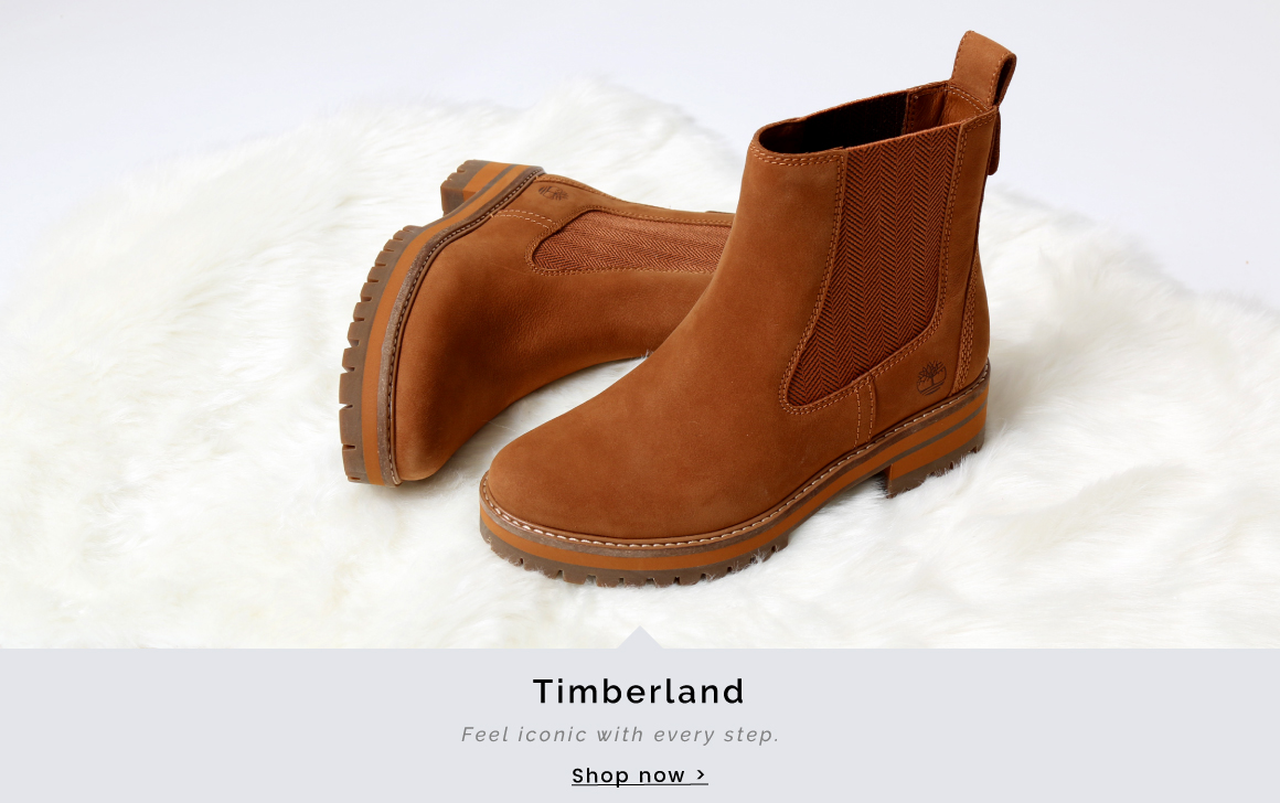 Timberland | Feel iconic with every step - Shop now >