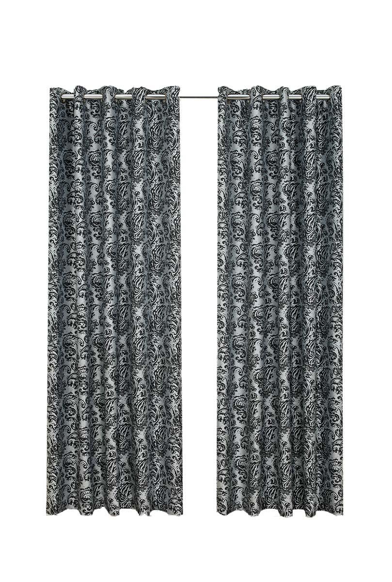 Antoinette Jacquard Curtains - 114x137cm