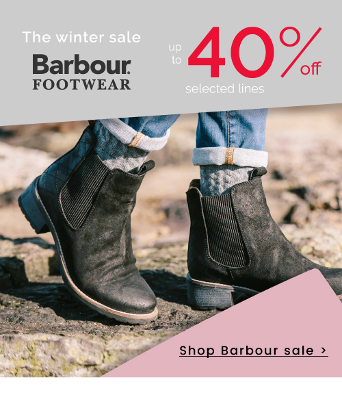 Barbour - 40% off - Shop Now >