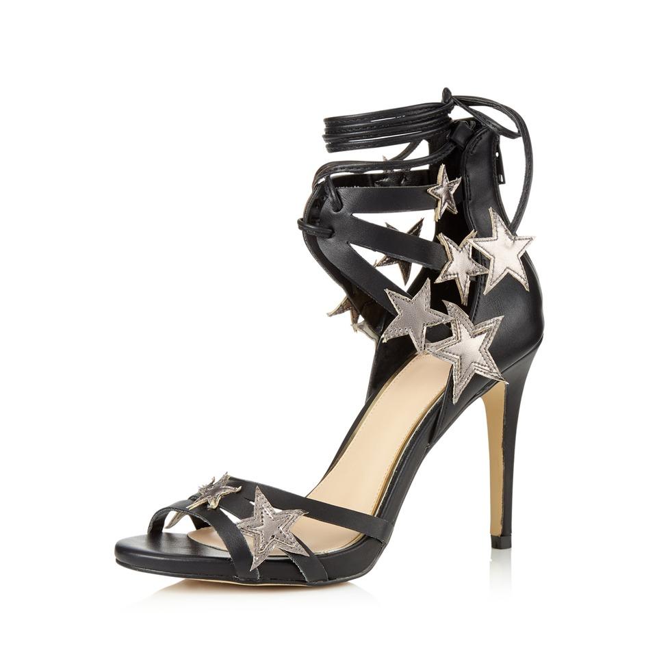 Miss Selfridge Spark Star Detail Sandals