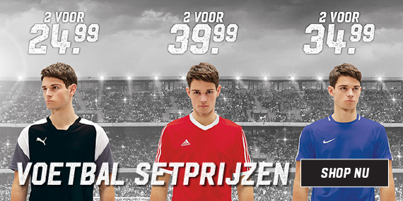 Voetbalsetprijzen