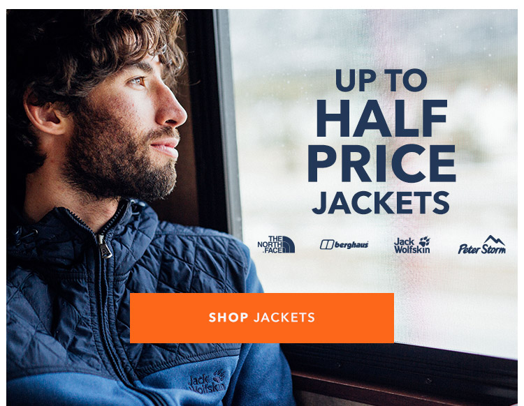 Up To Half Price Jackets