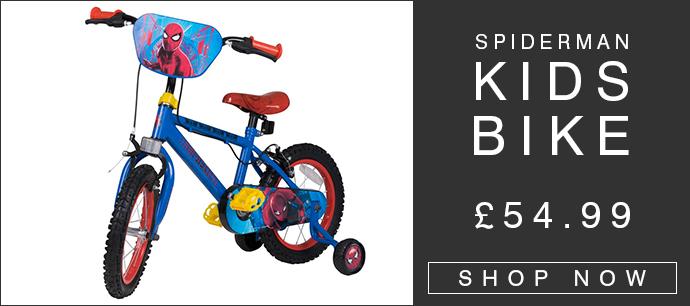 Spiderman 14Inch Children's Bike