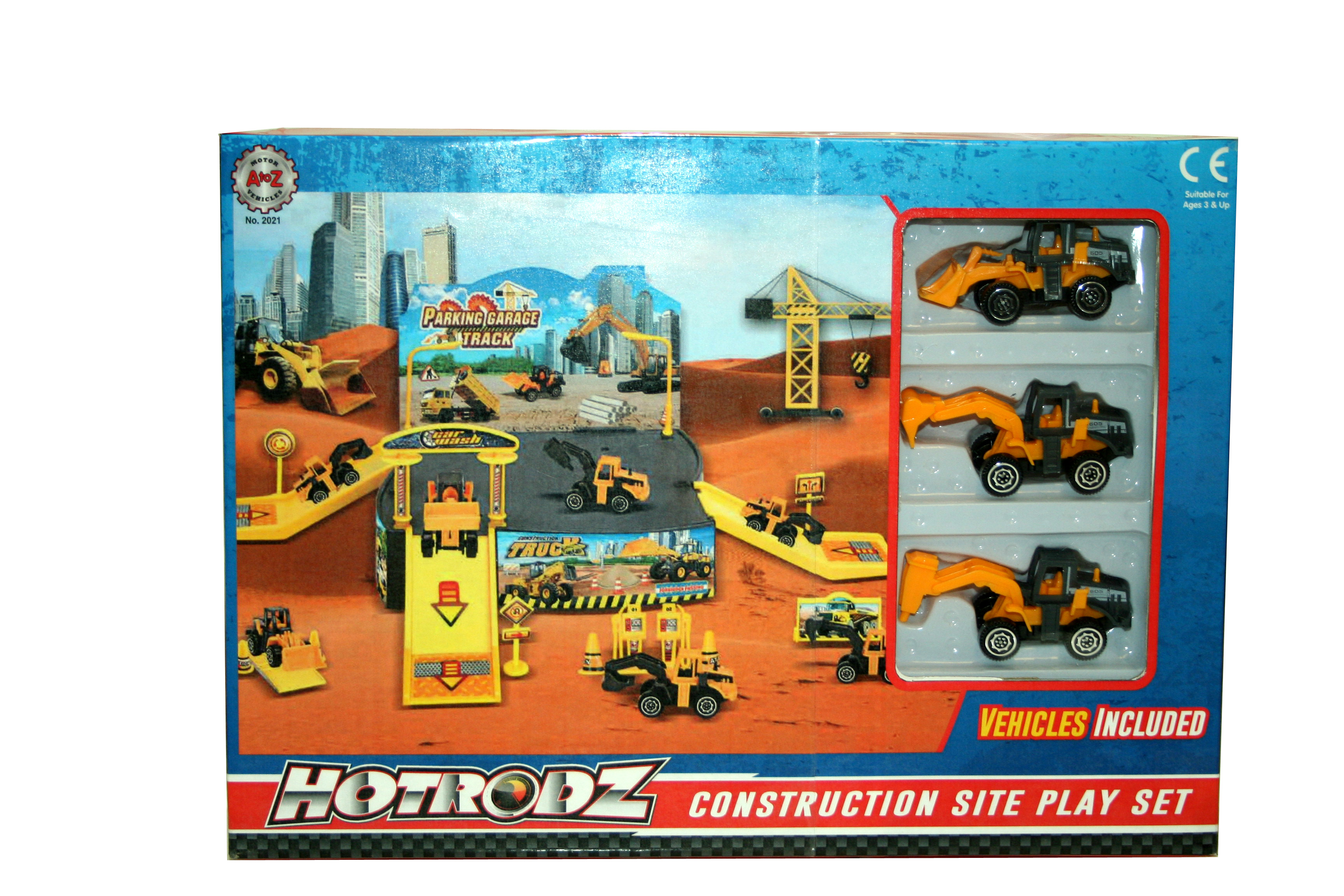 A-Z Construction Site Play Set