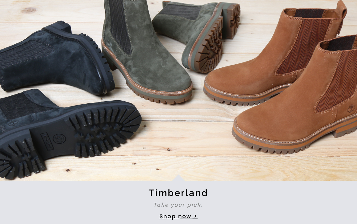 Timberland | Take your pick - Shop now >