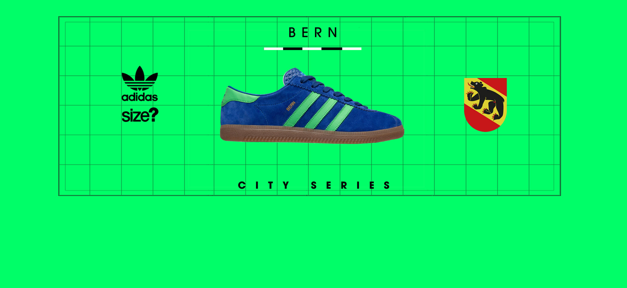 official photos 287de 70487 adidas Originals Bern  City Series