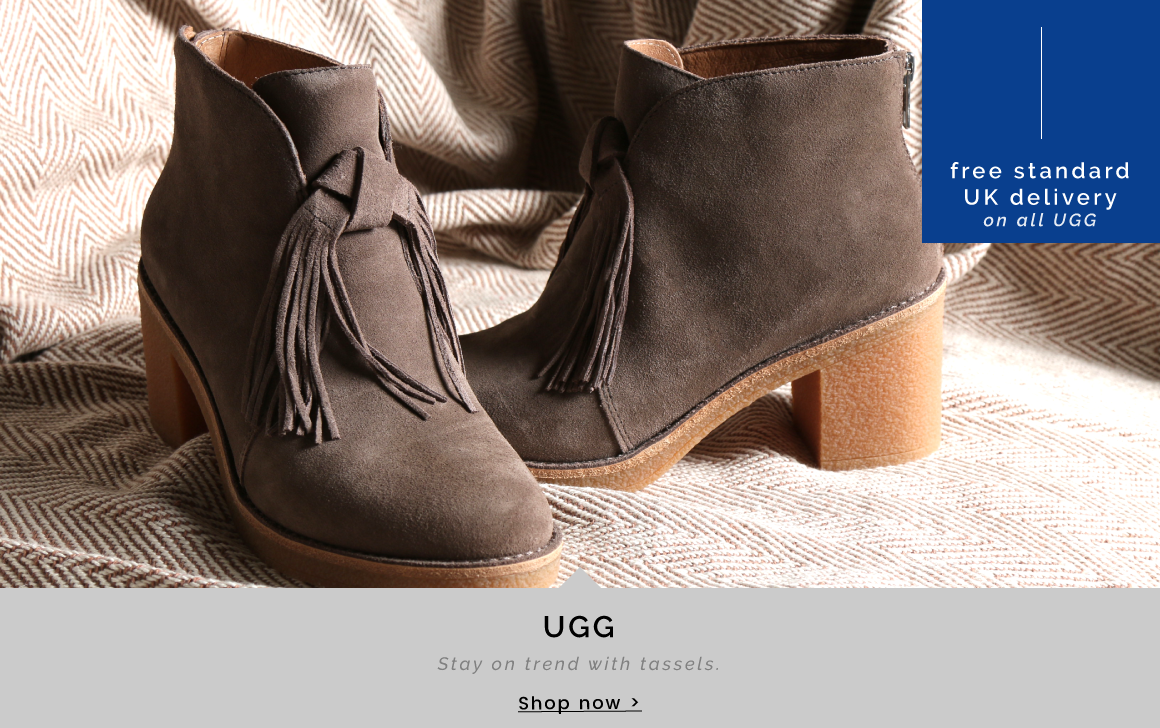 UGG   Stay on trend with tassels - Shop now >