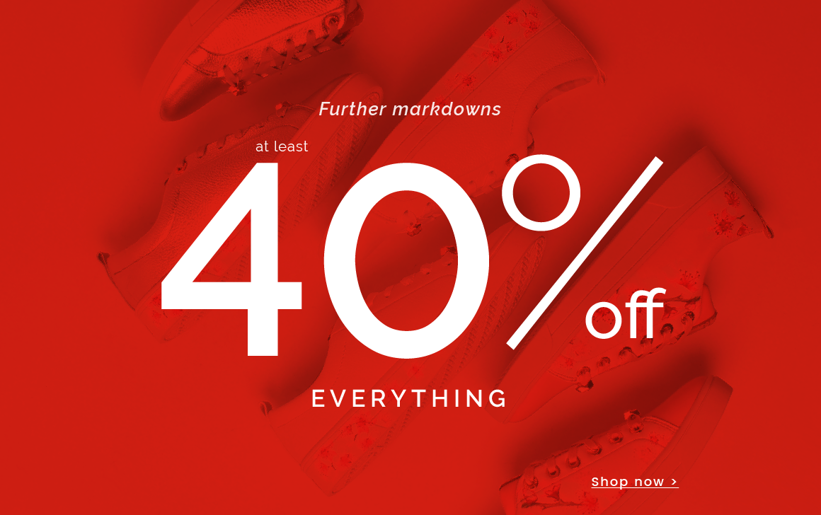 The big winter sale continues... -  up to 50% off - Shop the sale >